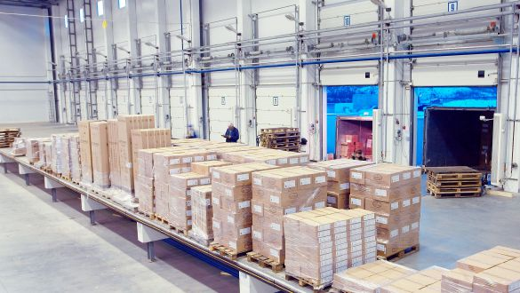 Mactronic's warehouse area is expanded to 6,500 m2 due to the company's dynamic growth